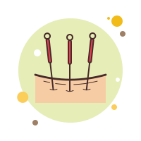 Acupuncture icon
