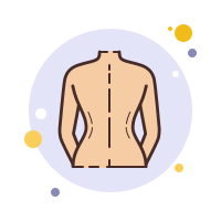 Female Back icon