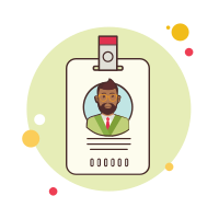 ID Business Man With Beard icon