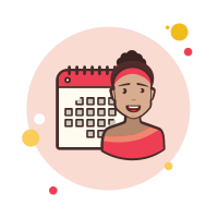 Lady With a Calendar icon