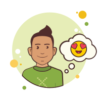 Man With in Love Emoji icon