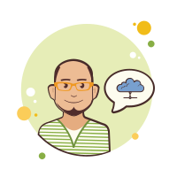 Man With Yellow Glasses ICloud icon
