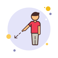 Person Pointing icon