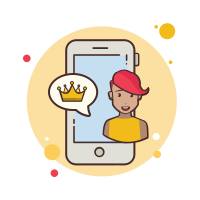 Phone Crown icon