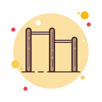 Pull Up Bar icon