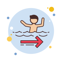 Rip Current icon