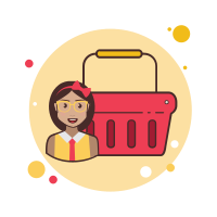 Scarlet Shopping Basket icon