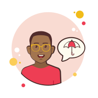 Umbrella Man icon
