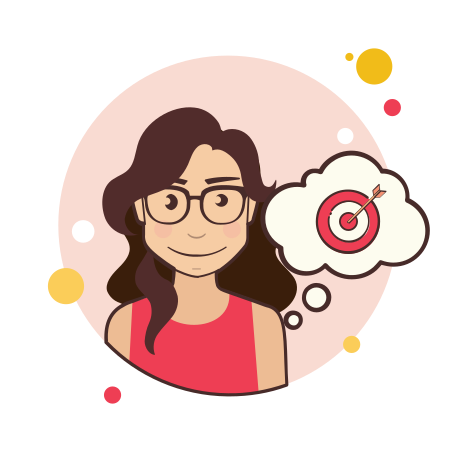 Girl With Target icon