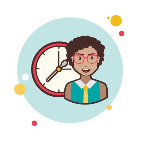 Lady With a Clock icon