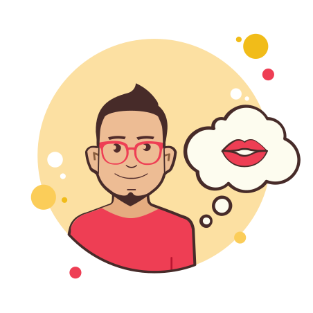 Man With Kiss icon