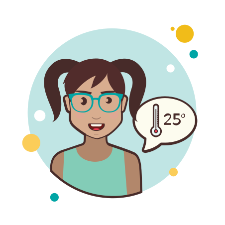 Thermometer Lady icon
