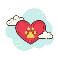 Dog Paw Print icon