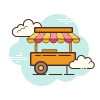 food cart icon