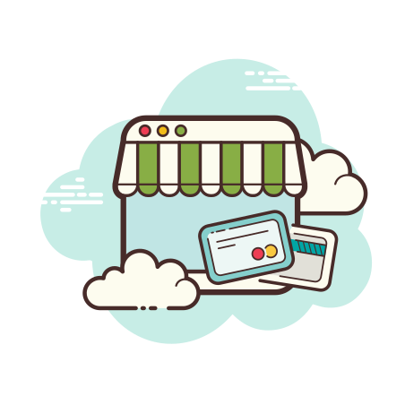 Online Shop Card Payment icon