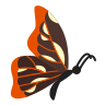 Butterfly Side View icon
