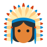 Native American Chief icon