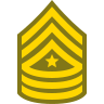 Sergeant Major SGT icon
