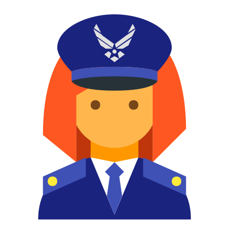 Air Force Commander Female icon