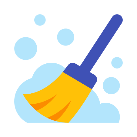 Broom With A Lot Of Dust icon