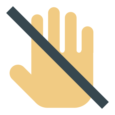 Do Not Touch icon