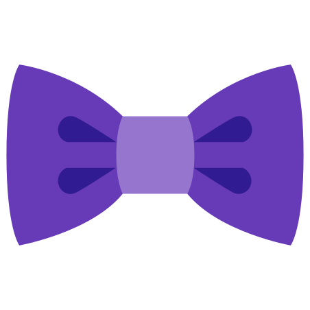 Filled Bow Tie icon