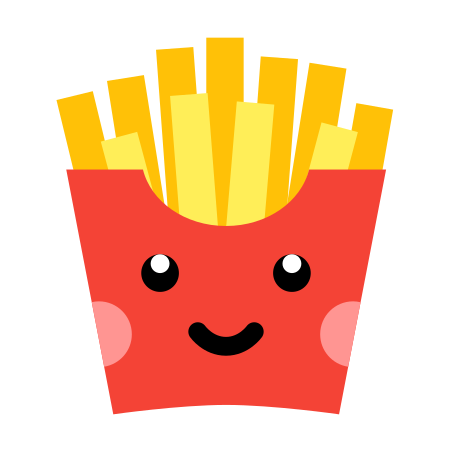 Kawaii French Fries icon