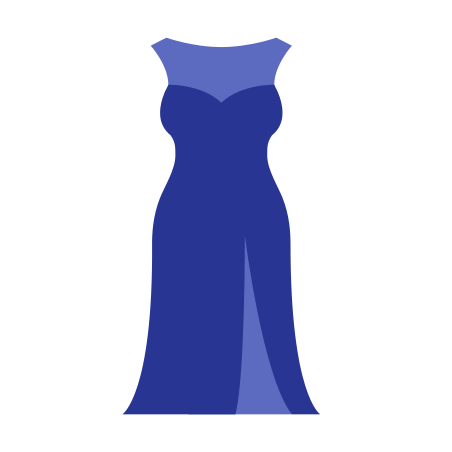 Long Formal Dress icon