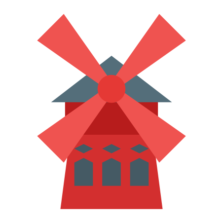 Moulin Rouge Windmill icon