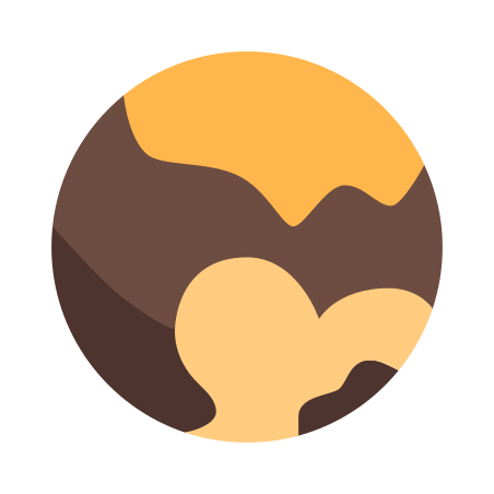Pluto Dwarf Planet icon