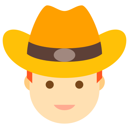 Red Haired Cowboy icon