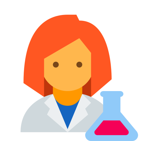 Scientist Woman icon
