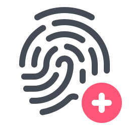 Add Fingerprint icon