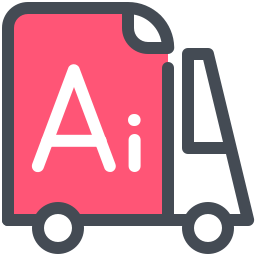Adobe Illustrator Delivery icon
