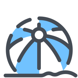 beach ball--v3 icon