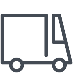 Big Courier Truck icon