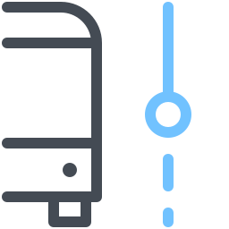 Bus Current Stop icon