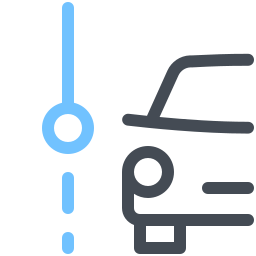 Car Current Stop icon