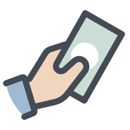 Cash in Hand icon