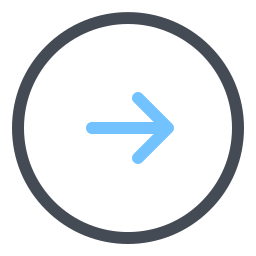 circled right--v2 icon