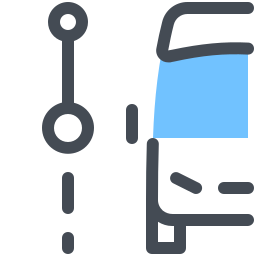 City Bus Current Stop icon