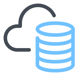 Cloud Database icon