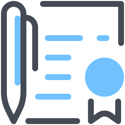 Conclusion Contract icon