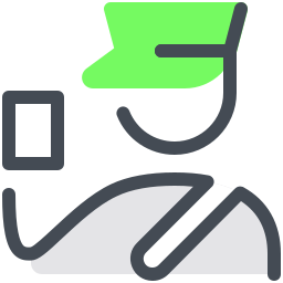 Customs Officer icon