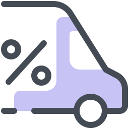 Discount Shipping icon