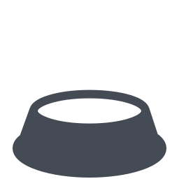 Empty Dog Bowl icon