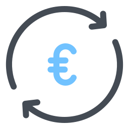 Exchange Euro icon