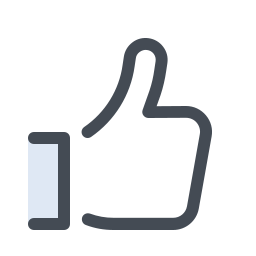 facebook like--v1 icon