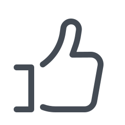 facebook like--v2 icon