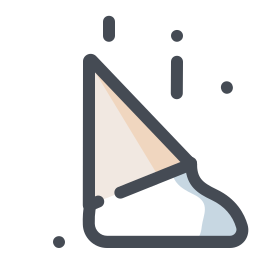 Fallen Ice Cream Cone icon